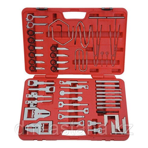 МАСТАК Набор для демонтажа панели приборов и медиа устройств, кейс, 52 предмета МАСТАК 108-00052C