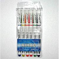 Набор ручек гелевых AIHAO 6 цветов  AH801A-6