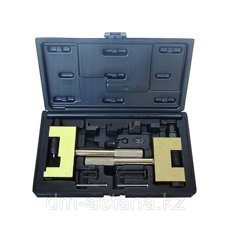 МАСТАК Набор для соединения и разъединения звеньев цепи ГРМ MB, кейс, 13 предметов МАСТАК 103-22013C
