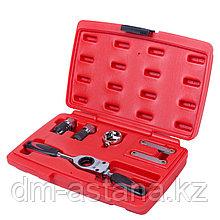 МАСТАК Набор инструментов для нарезания резьбы, кейс, 6 предметов МАСТАК 351-00006C