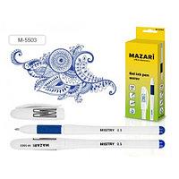 "Ручка гелевая MAZARI ""MISTRY"", 0,5 мм, синяя  М-5503/BU"