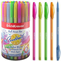 "Ручка шариковая ERICH KRAUSE ""Cocktail"", 0,7 мм, синяя  33518"