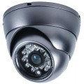НЕДОСТУПНО XCW-104D камера купольная уличная антивандальная 420 ТВЛ объектив 2,8-12 мм
