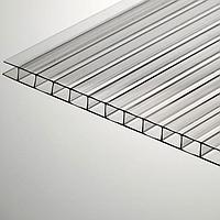 Сотовый поликарбонатный лист прозрачный Skyglass 2100х6000х6 мм