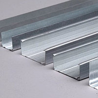 Профиль металлический стоечный 50х50, 0,45 (12 шт)