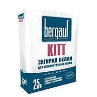 Затирка для швов Bergauf KITT белая, 25 кг