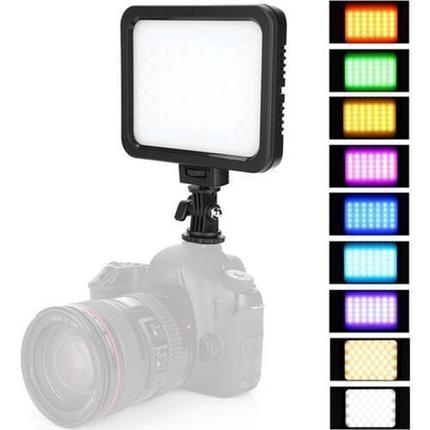 Прожектор LED  накамерный ZF-RGB 360 цветной, фото 2