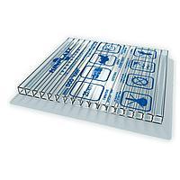 Сотовый поликарбонатный лист прозрачный Skyglass 2100х12000х10 мм