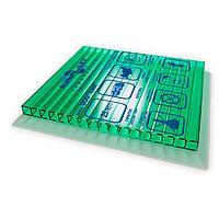 Сотовый поликарбонатный лист прозрачный Woggel 2100х12000х16 мм