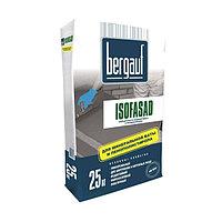 Клей для пенополистирола, минваты Bergauf ISOFASAD, 25 кг