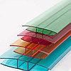 Профиль для поликарбоната соединительный неразъемный НР, прозрачный 6-8*6000 мм
