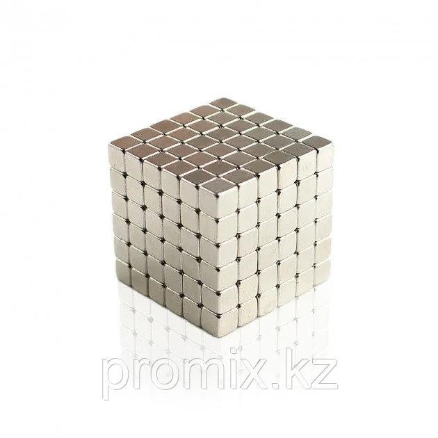 Тетракуб магнитный конструктор 5 мм 216 кубиков (Tetracube)