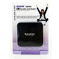 Картридер Axpro Card Reader AXP724, черный