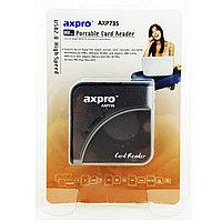 Картридер Axpro Card Reader AXP735, черный