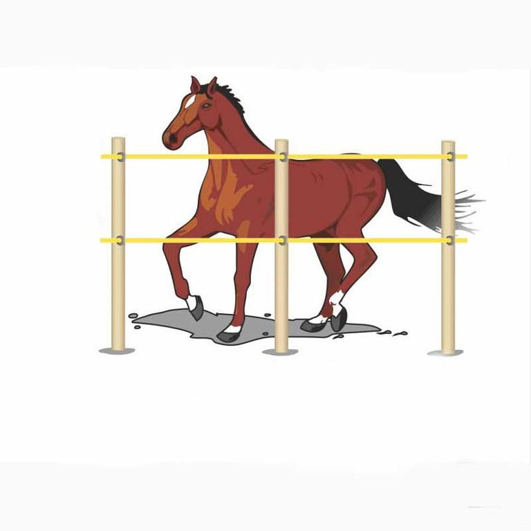 Электропастух для лошадей (комплект на 200 м.)
