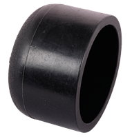Заглушка ПЭ DN 63 стык спайка SDR11, L- 50мм, тс- 5мм