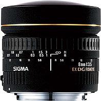 Объектив Sigma 8mm f/3.5 EX DG Circular fisheye for Nikon