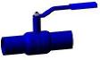 Кран шаровой SV под приварку LS DN80