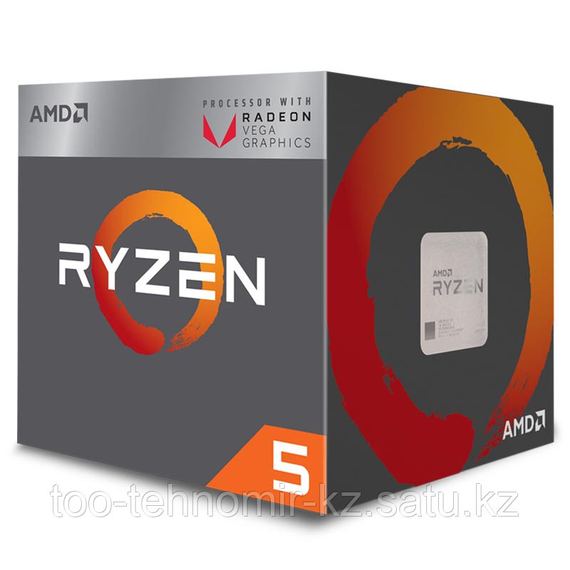 Процессор  CPU AMD Ryzen 5 2600E, 4.0GHz/AM4/12nm/Zen+/2x8 Mb L3 Cache/OEM