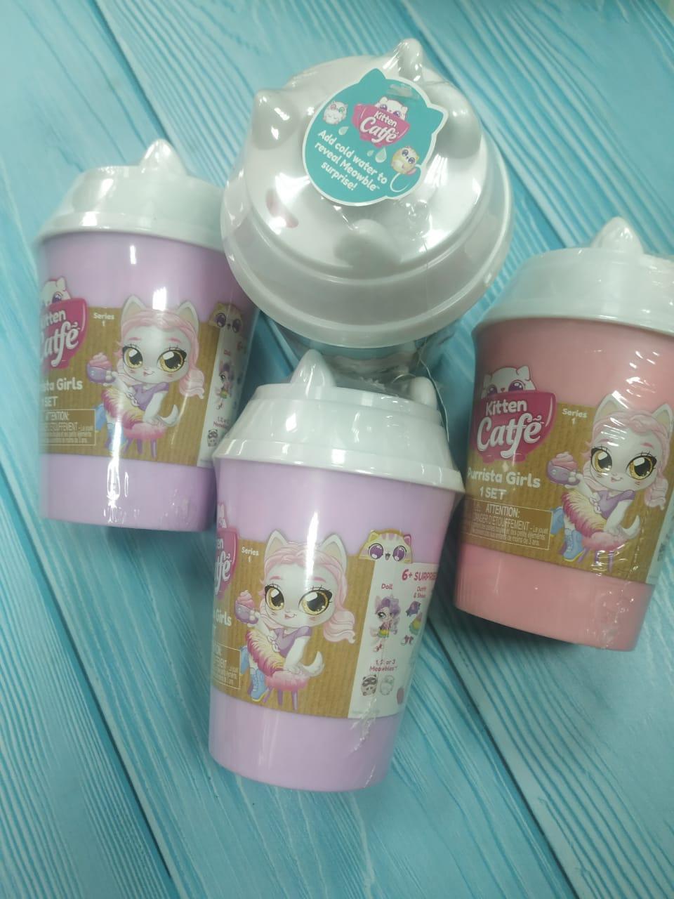 Куклы-кошки Kitten Catfe Purrista Girls Jakks Pacific