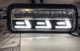 Диодные подфарники LLL+бегущий поворотник  Лада 4х4, фото 4