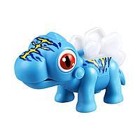 Интерактивный Динозавр Глупи синий