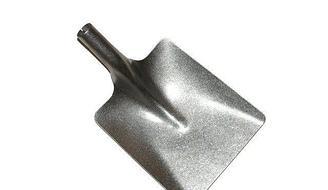Лопата титановая совковая штампованная