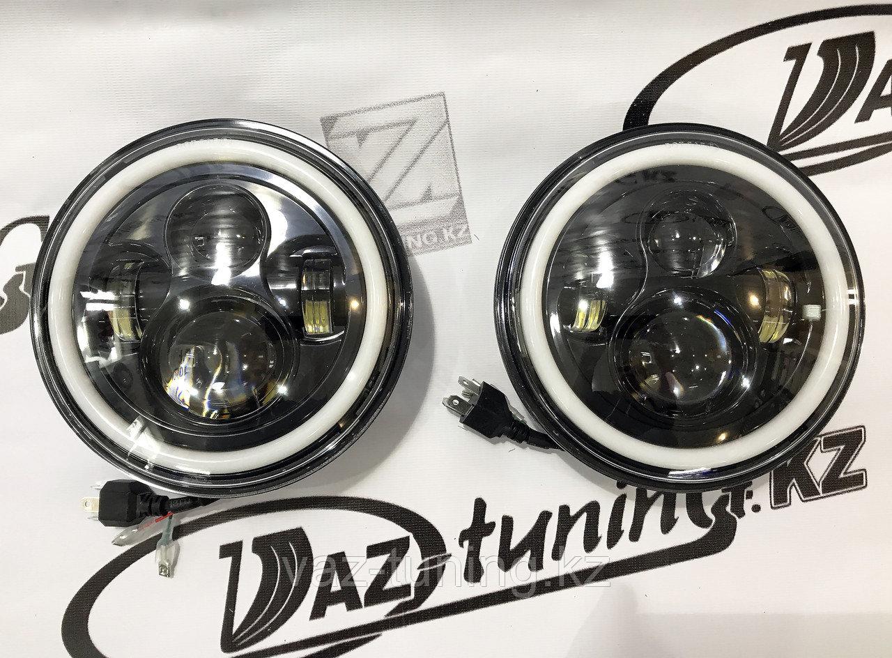 LED фары на ВАЗ 2121