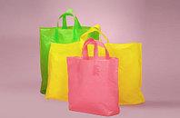 Пакеты с петлевой ручкой типа сумка, с логотипом заказчика