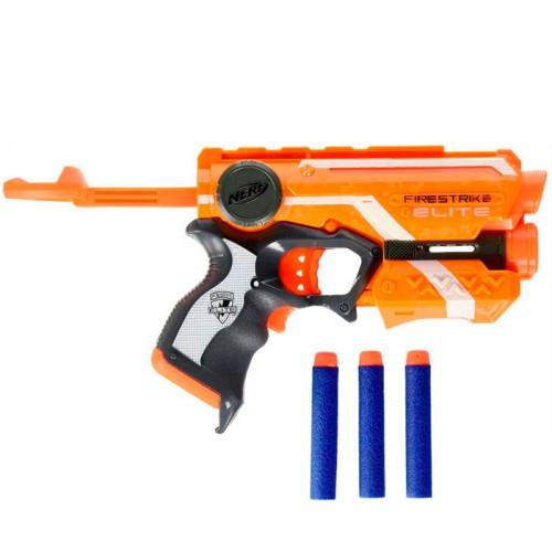 "Hasbro Nerf N-Strike Elite Пистолет Бластер ""Файрстрайк"" (Firestrike)"