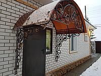 Козырек с прозрачной крышей, фото 1