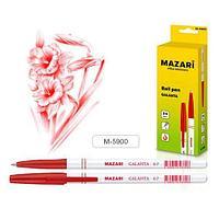 """Ручка шариковая MAZARI """"GALANTA"""", 0,7 мм, масляные чернила, красная  М-5900/RD"""
