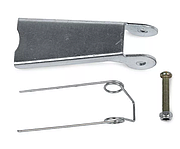 Защелки для крюков с вилочным креплением