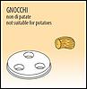 Фильера Fimar GNOCCHI, для итальянских клецек ньокки Ø 12 мм для модели MPF 2,5 и MPF 4