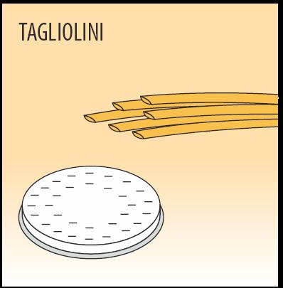 Фильера Fimar TAGLIOLINI, паста 3 мм для модели MPF 2,5 и MPF 4