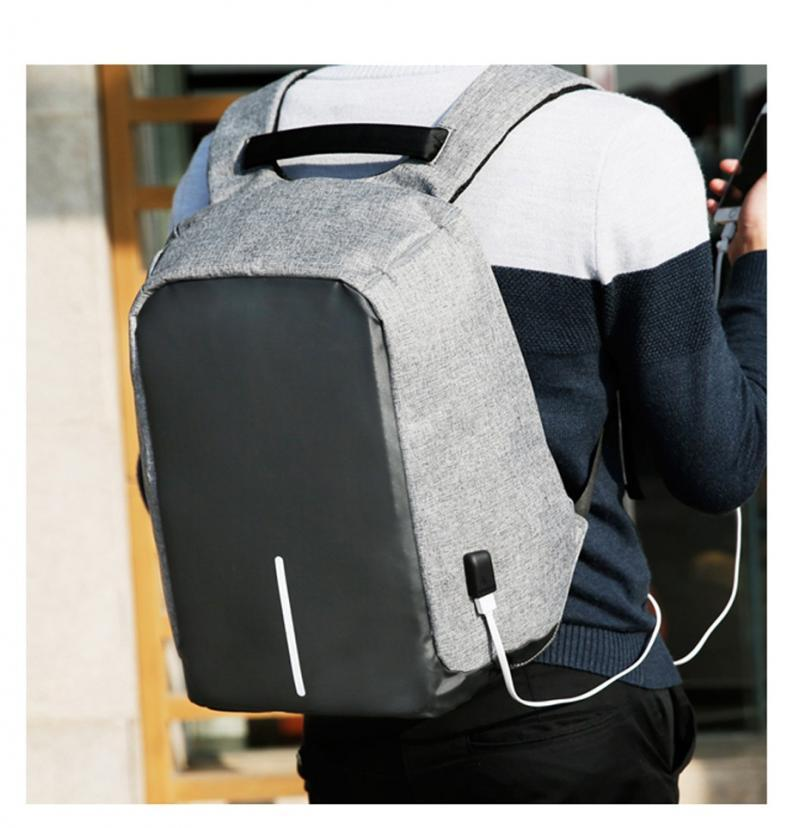 Рюкзак Антивор с USB зарядкой Осенняя ярмарка