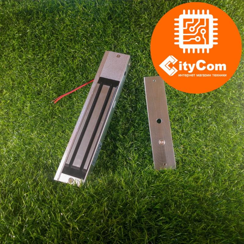 Замок электромагнитный на пластиковую, металлическую, деревянную дверь, калитку, на домофон, SmartLock DS-280D