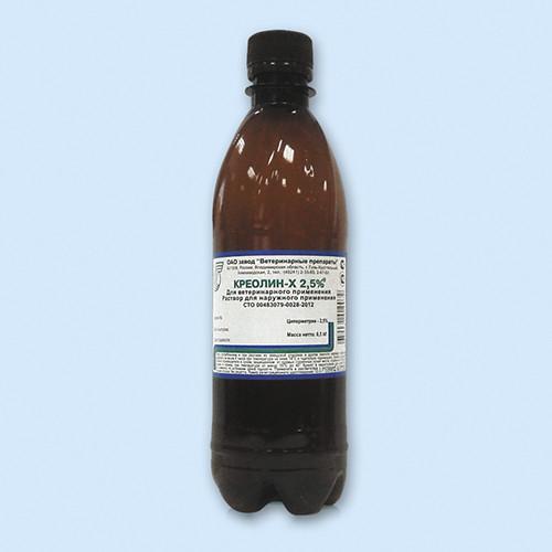 Креолин-Х 1л  для купки животных ( проплывные ванны)