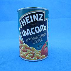 HEINZ/Фасоль в томатном соусе (415 гр.)