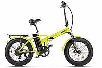Велогибрид Volteco Cyber (Желто-черный)