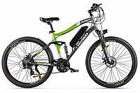 Велогибрид Eltreco FS900 NEW (2020) (Серо-зеленый)