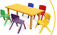 Пластиковые детские стуля