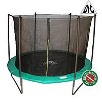 Батут с сеткой DFC Jump 14ft складной (Apple green )