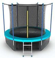 Батут EVO Jump Internal 6ft + Lower net (Морская волна)