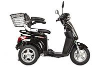 Электроскутер Volteko Trike Round New (Серый)