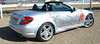 Выхлопная система Quicksilver на Mercedes-Benz SLK R171 AMG