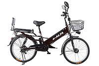 Велогибрид Green City E-Alfa L (Серый), фото 1