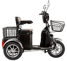 Электроскутер трицикл Green City S1 V2  (Черный)