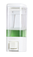 Диспенсер для жидкого мыла, наливной, 0,48 л, ABS пластик, белый
