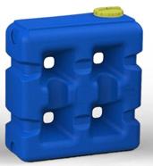 Емкость для воды на 2000 л (пищевой пластик)